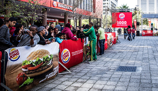 Burger King Launch