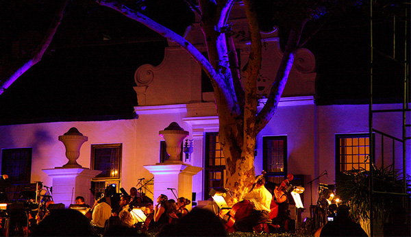 NEDERBURG NEW YEAR'S EVE 2015 WITH THE CAPE TOWN PHILHARMONIC ORCHESTRA